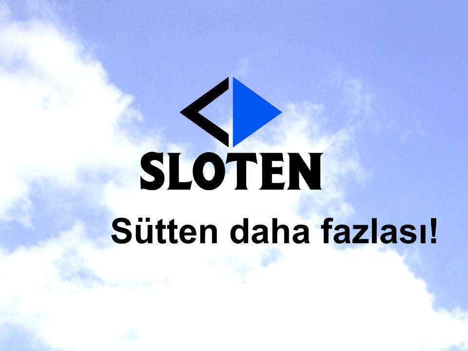 050419 - pres UK TS © Sloten B.V. Sütten daha fazlası!