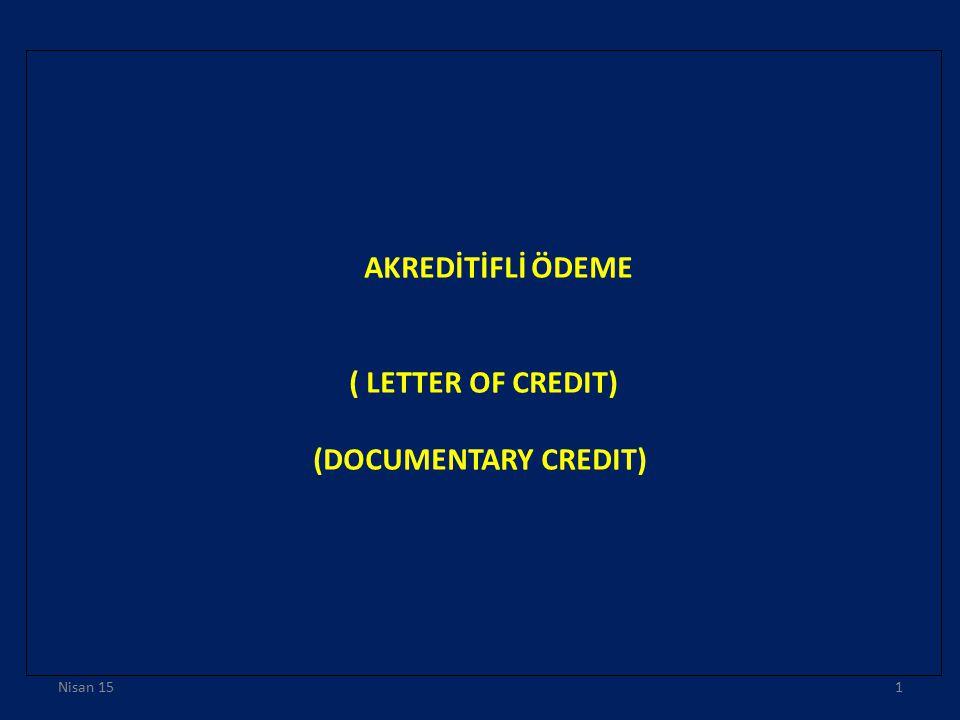 Nominated bank (Görevli banka), akreditifin kullanımda olduğu banka veya herhangi bir banka nezdinde kullanılır biçimde açılmış bir akreditifte herhangi bir banka anlamına gelir.