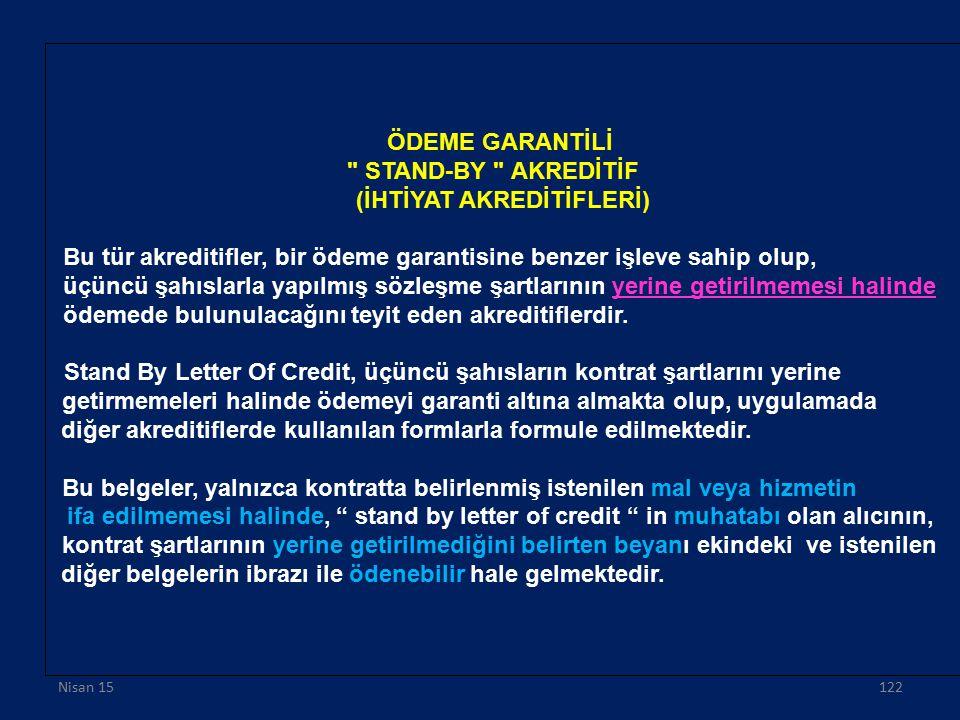 ÖDEME GARANTİLİ