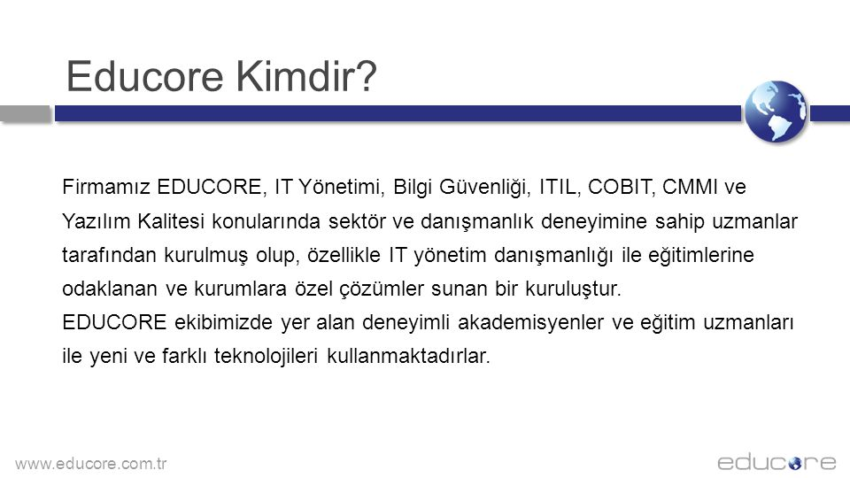 www.educore.com.tr Educore Offices EDUCORE ISTANBUL Galipbey Cad.