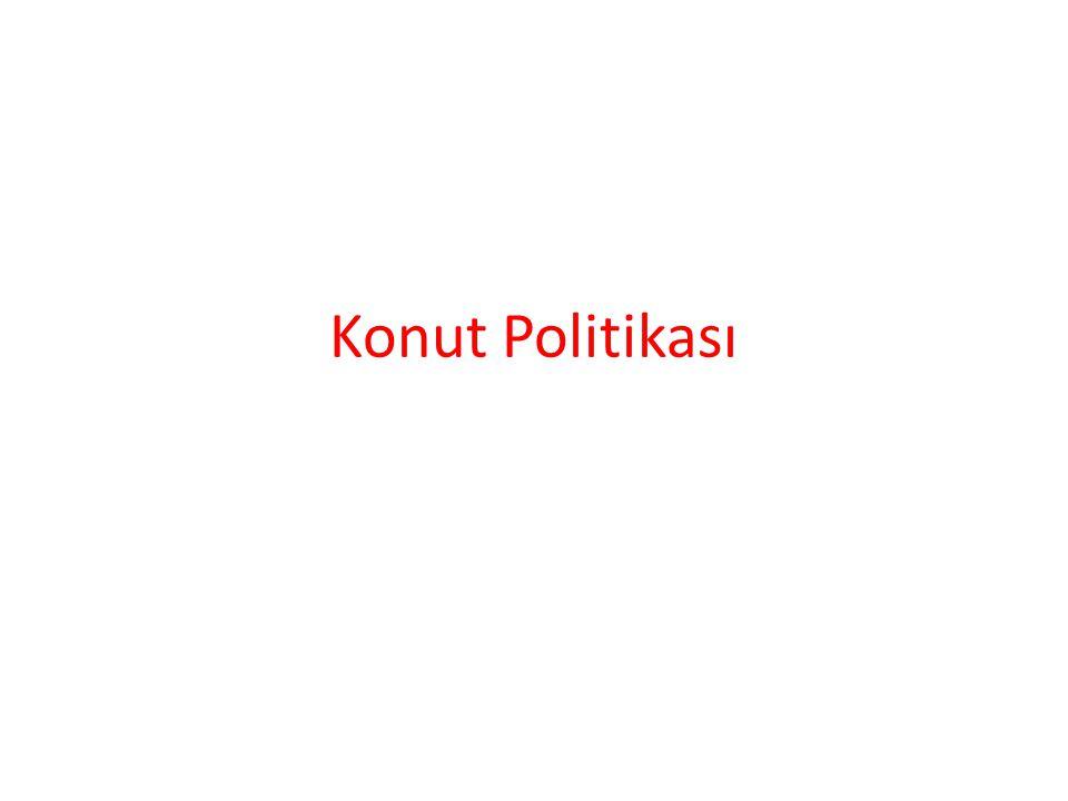 Konut Politikası