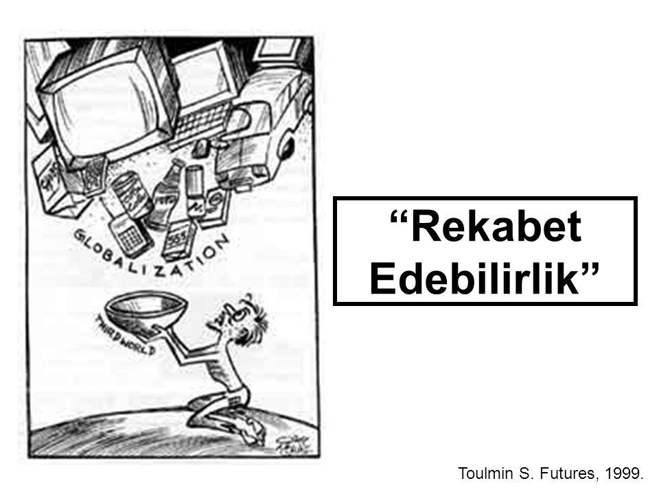 """Rekabet Edebilirlik"" Toulmin S. Futures, 1999."