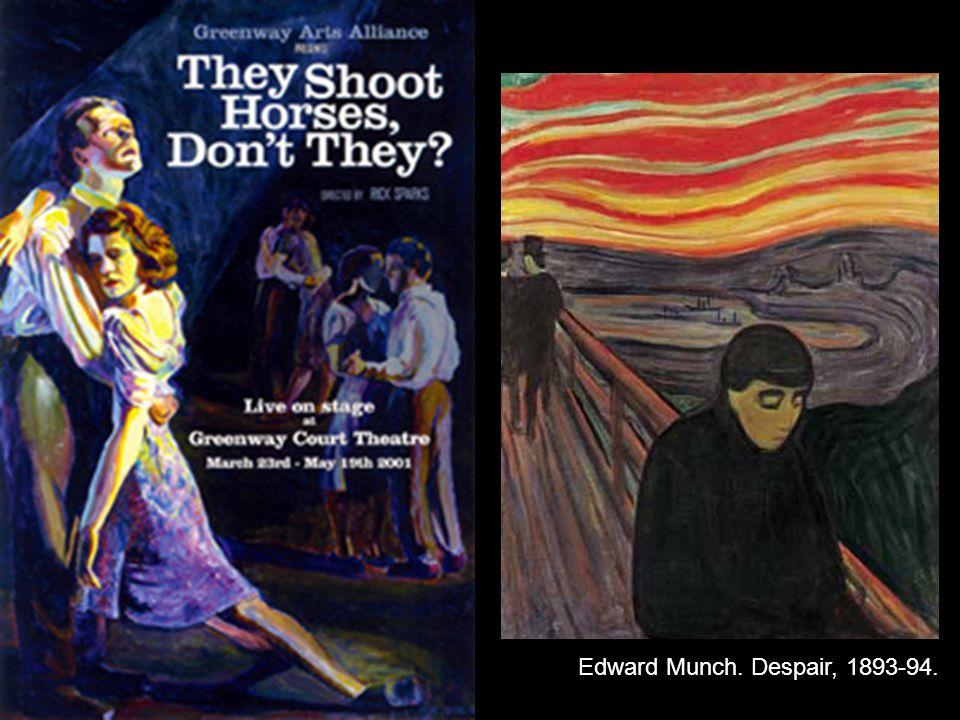 Edward Munch. Despair, 1893-94.
