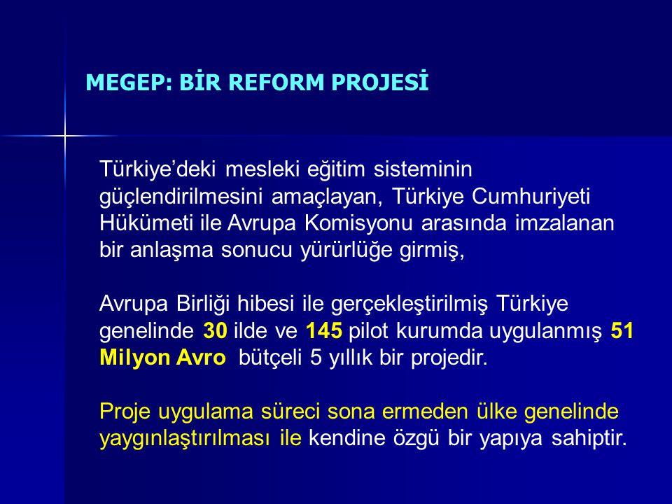 Türkiye'deki mesleki eğitim sisteminin güçlendirilmesini amaçlayan, Türkiye Cumhuriyeti Hükümeti ile Avrupa Komisyonu arasında imzalanan bir anlaşma sonucu yürürlüğe girmiş, Avrupa Birliği hibesi ile gerçekleştirilmiş Türkiye genelinde 30 ilde ve 145 pilot kurumda uygulanmış 51 Milyon Avro bütçeli 5 yıllık bir projedir.