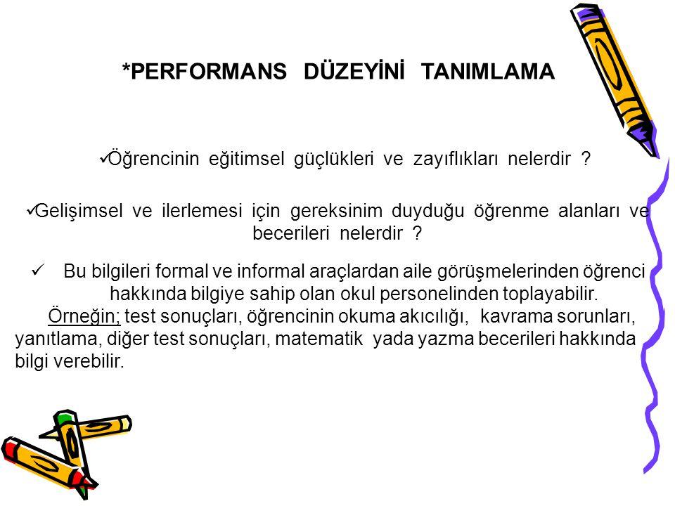 (Eğer aile evde Türkçe'den farklı bir dil konuşuyorsa okul Bireysel Eğitim Programı takımı önlem almak zorundadır. Bu nedenle formda kullanılan dilin