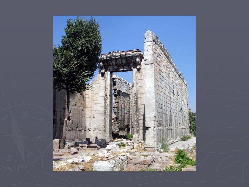 Hamam ► Klasik Roma hamamı planında frigidarium (soğuk oda), tepidarium (serin room) and caldarium (sıcak oda).