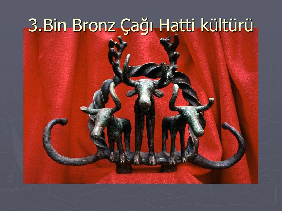 3.Bin Bronz Çağı Hatti kültürü