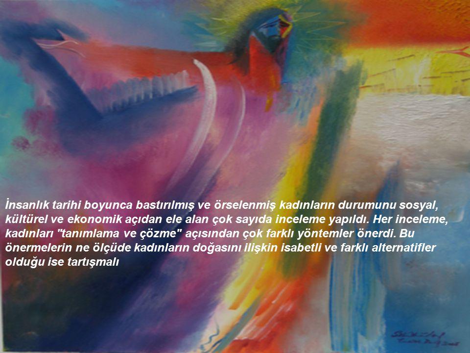 Kadınlar genellikle gün içindeki zamanlarının yüzde seksenini yaratıcı hayatlarının sekteye uğratan işler yapmaya harcayarak duyarlı olmaya çalışan sanatçılardı.