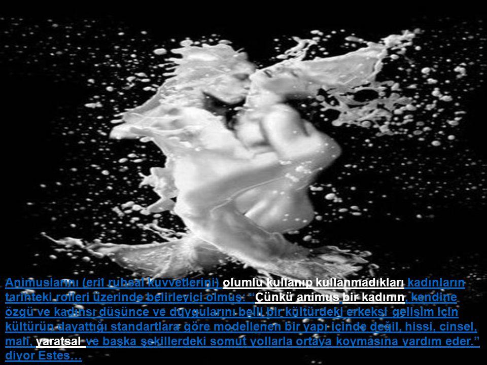 Zamanın seyri içinde eski pagan simgeler Hristiyan olanla kaplanmış, öyleki bir masaldaki yaşlı şifacı, kötü bir cadı haline gelmiş, bir hayalet meleğe dönüşmüş, Cinsel öğeler atılmıştır.
