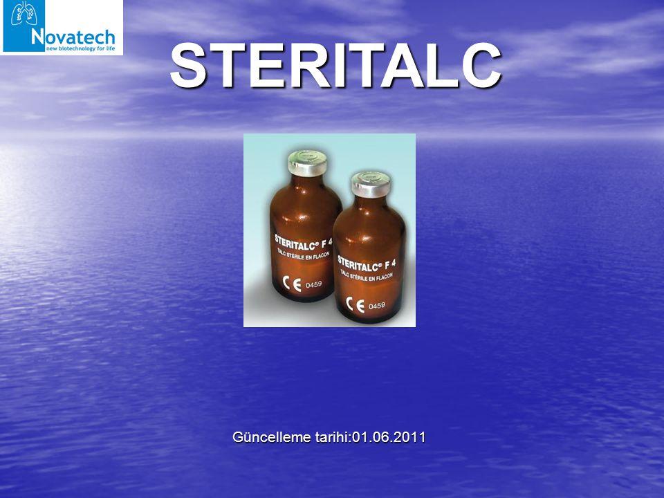Güncelleme tarihi:01.06.2011 STERITALC
