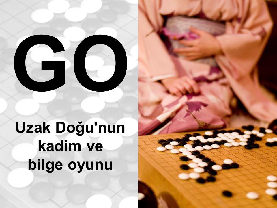 GO nedir.GO, şans öğeleri içermeyen bir zeka oyunudur.