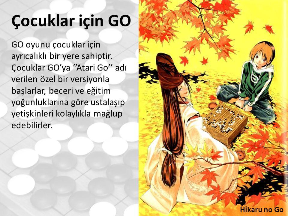 Hikaru no Go Çocuklar için GO GO oyunu çocuklar için ayrıcalıklı bir yere sahiptir.