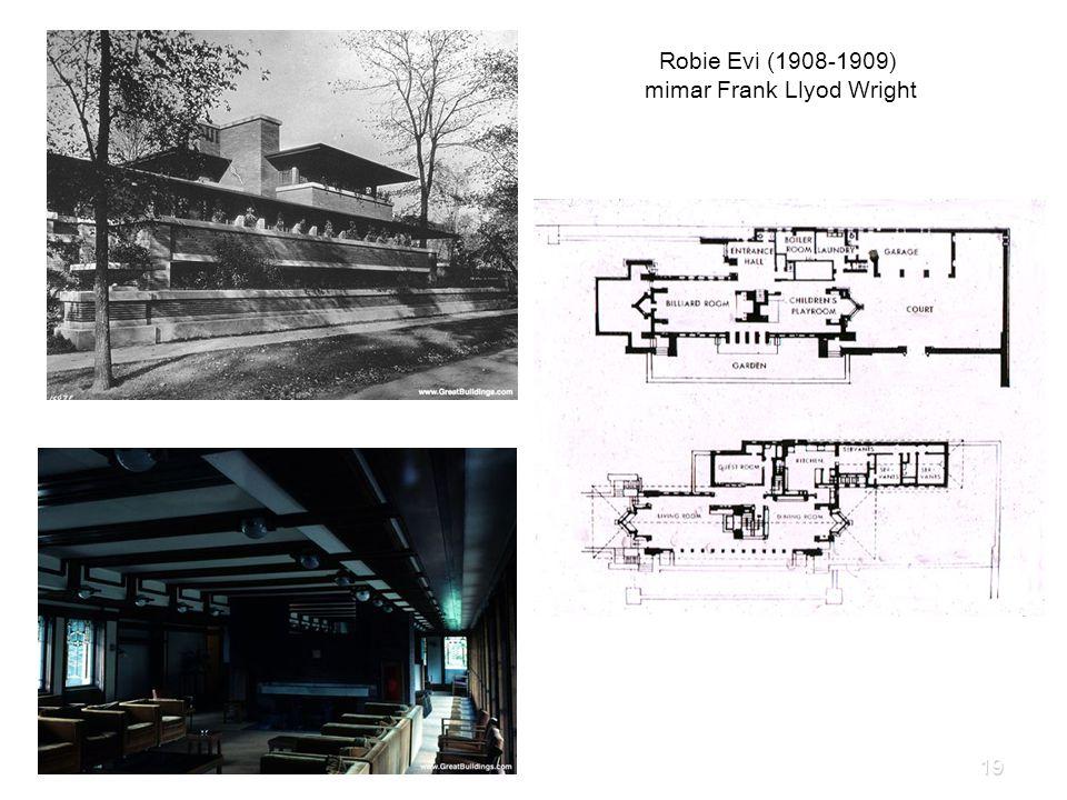 Robie Evi (1908-1909) mimar Frank Llyod Wright 19