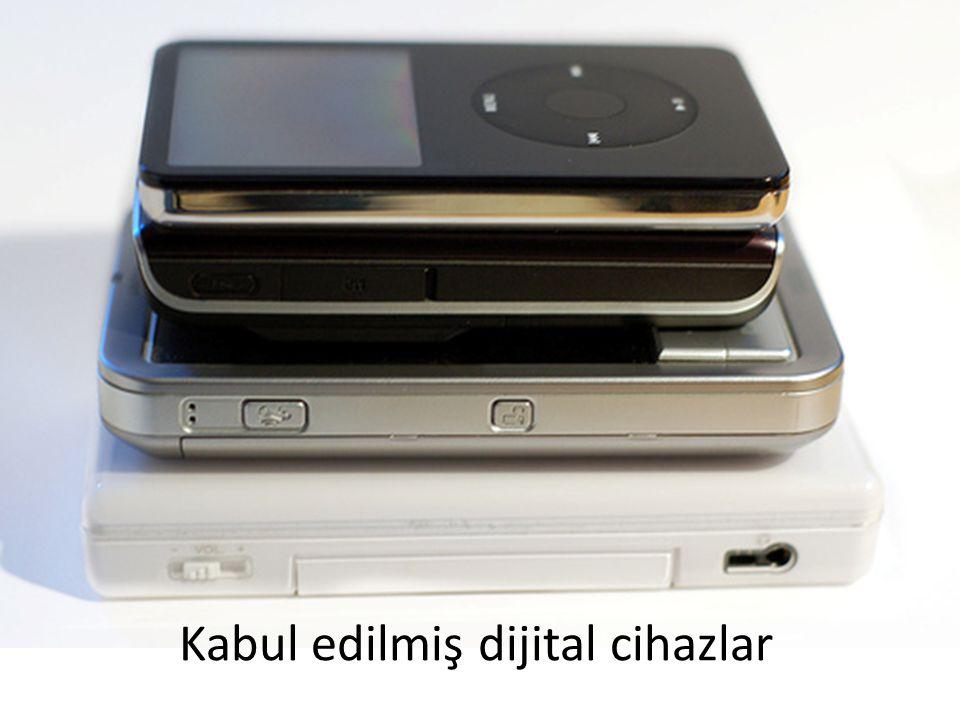 Kabul edilmiş dijital cihazlar