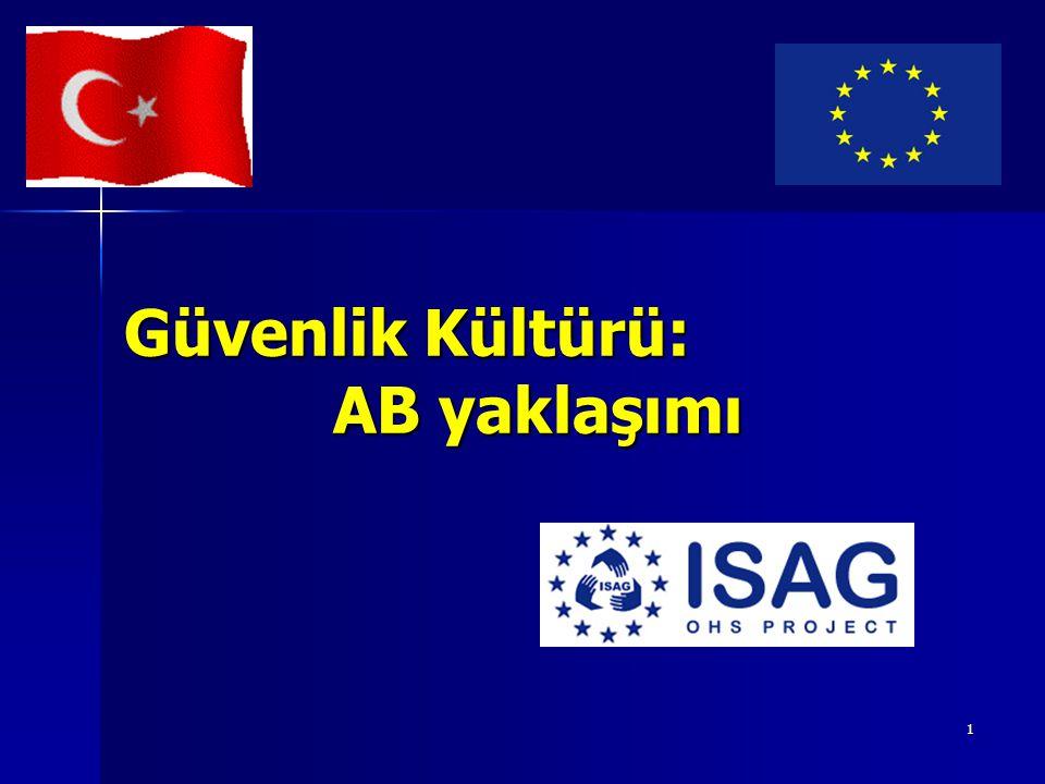 2 AB tarafından finanse edilen ISAG Projesi Genel Amaçlar: Türkiye'deki İSG standartlarını AB İSG standartlarıyla uyumlulaştırmak Türkiye'deki İSG standartlarını AB İSG standartlarıyla uyumlulaştırmak İSG kurallarının işyerlerinde uygulanmasını sağlayacak sistemin geliştirilmesine katkıda bulunmak (KOBİ'ler!) İSG kurallarının işyerlerinde uygulanmasını sağlayacak sistemin geliştirilmesine katkıda bulunmak (KOBİ'ler!)