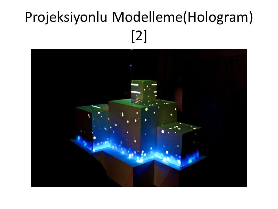 Projeksiyonlu Modelleme(Hologram) [2]