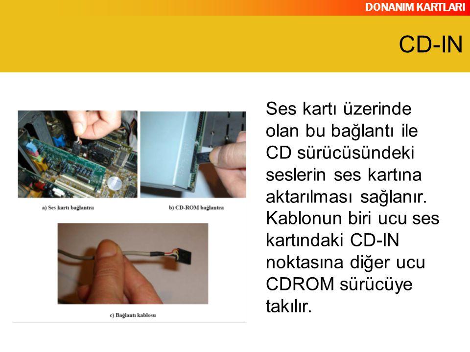 DONANIM KARTLARI Dijital bağlantı noktasıdır.