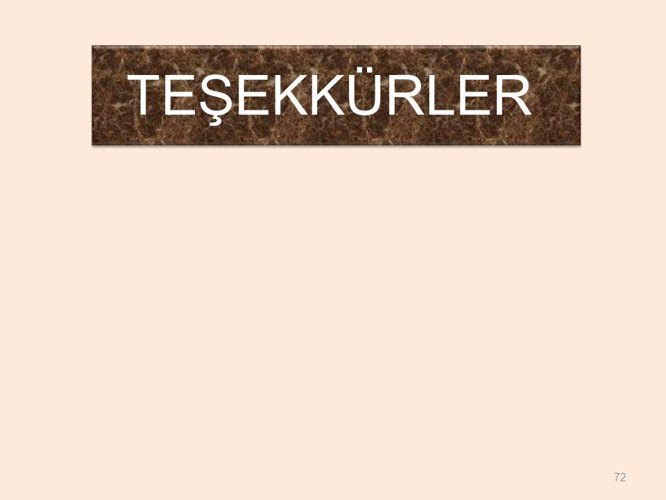 TEŞEKKÜRLER 72