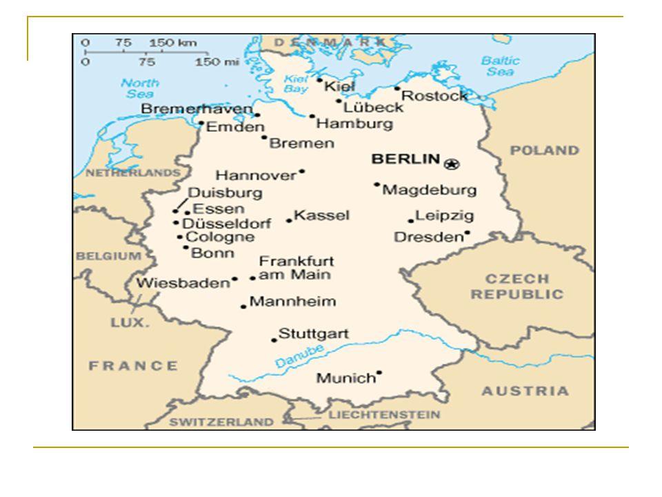 ALMANYA'NIN TARİHİ BBaltık kıyılarında yaşayan Almanlar, Batı Roma Devleti nin çökmesi ile Alman Krallığı nı kurdular.