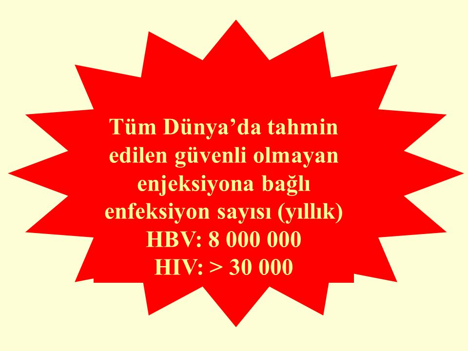 TRAHED KULLANILAN ve BİTEN FLAKONLARI ENJEKTÖR GÜVENLİ ATIK KUTUSUNA ATIN!!!