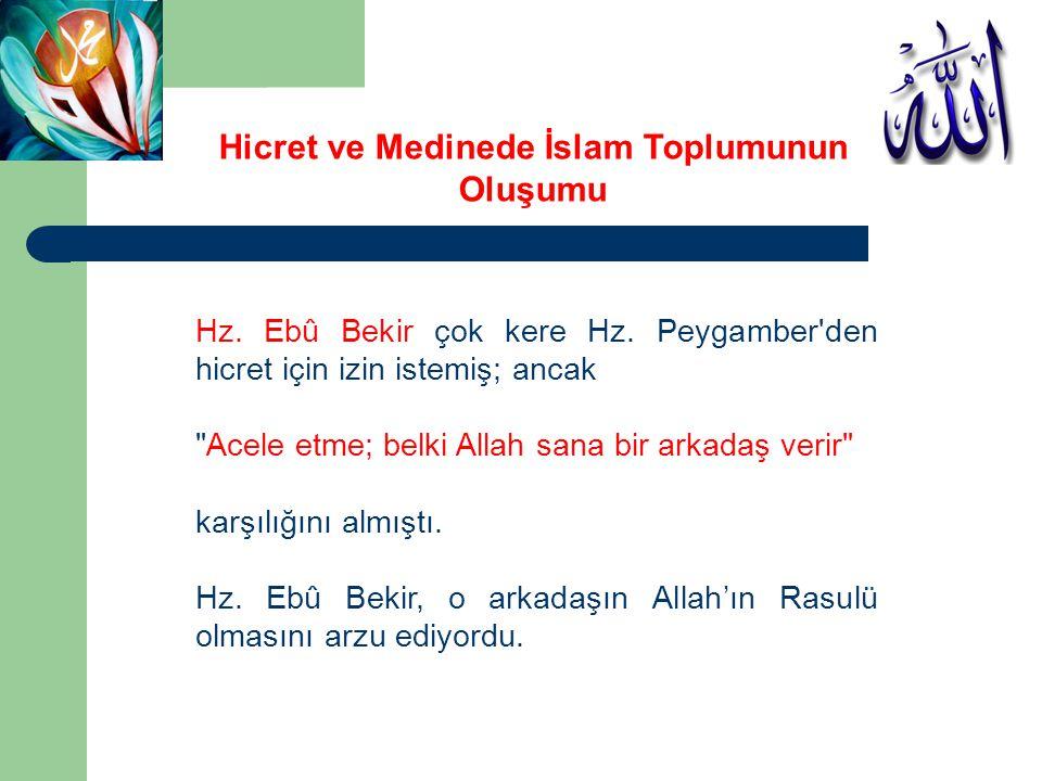 Mekke müşrikleri İslâm'ın Medine'de yayılmasından ve Müslümanların oraya hicret etmesinden rahatsız oluyorlardı.