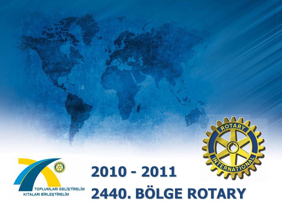 2010 - 2011 2440. BÖLGE ROTARY