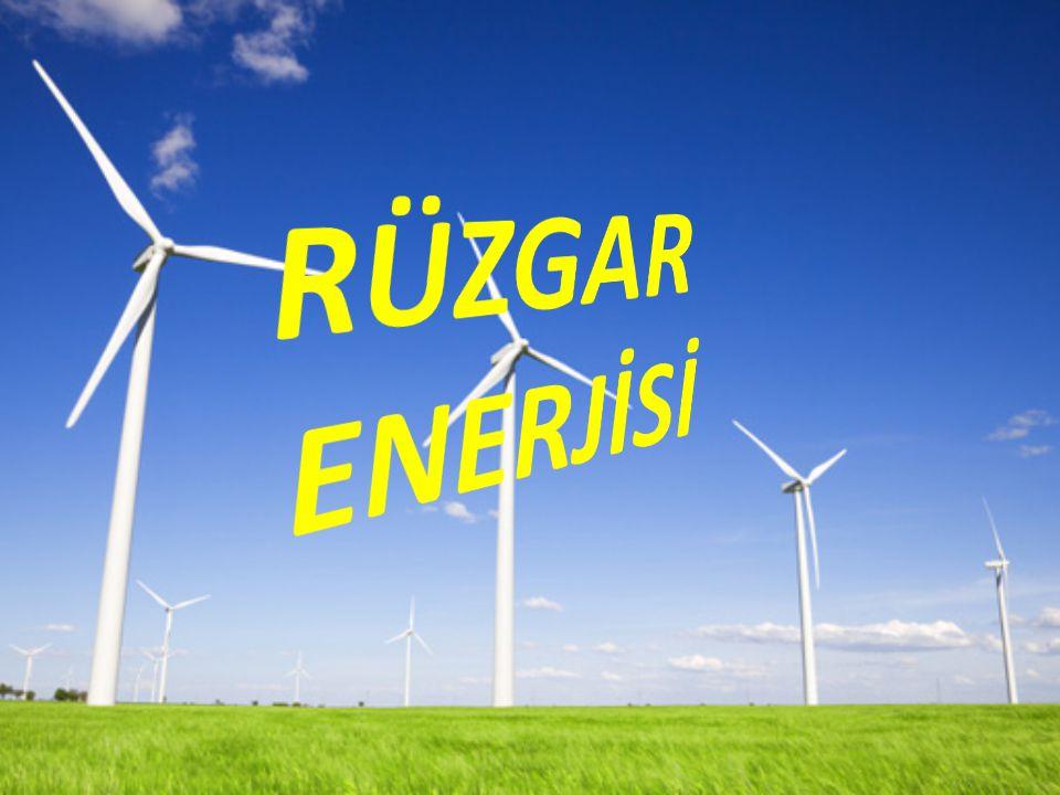 RÜZGAR ENERJİ POTANSİYELİ Rüzgar türbinleri, bölgesel olarak süreklilik arz eden rüzgar gücünden elektrik üretmek için yıllardır kullanılan bir sistemdir.