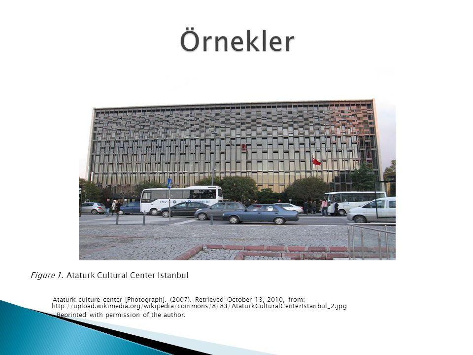 Figure 2.Maslak financial district Istanbul Kara, S.