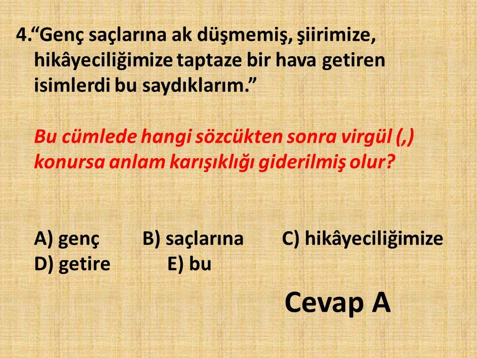 45.(I) Dil insanların birbirleriyle iletişim kurmalarını sağlayan bir araçtır.
