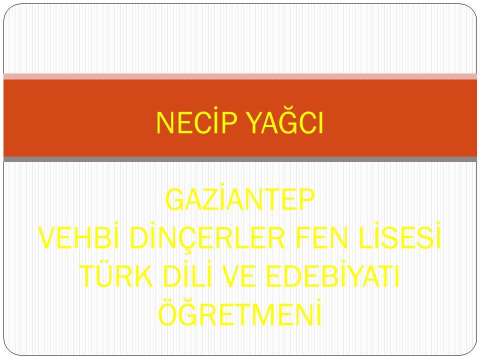 NECİP FAZIL KISAKÜREK (1904–1983) Felsefi şiirin en önemli temsilcilerindendir.