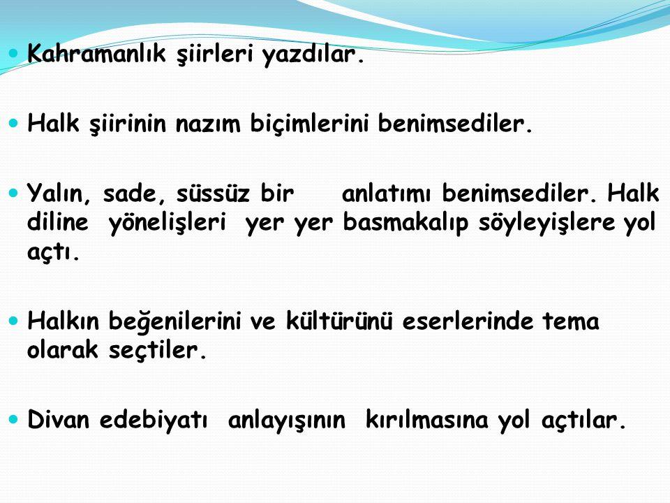 Ahmet ARİF Türkçeyi en iyi kullanan şairlerdendir.