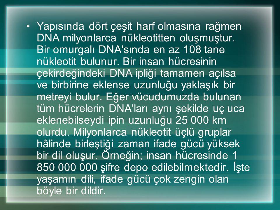 Yaşam, haberleşme ve bilgi akışı üzerine kurulmuştur. Hücreden hücreye ve hücre içi haberleşmede mesaj taşıyan özel moleküller kullanılır. Hücrenin iç