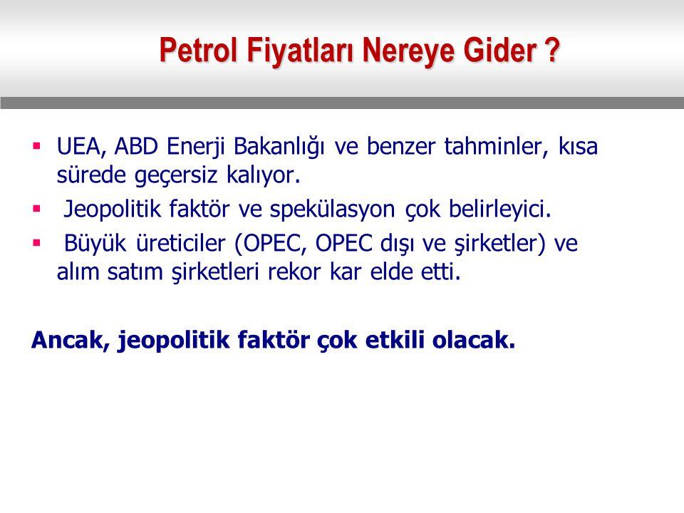 Petrol Fiyatları Nereye Gider .
