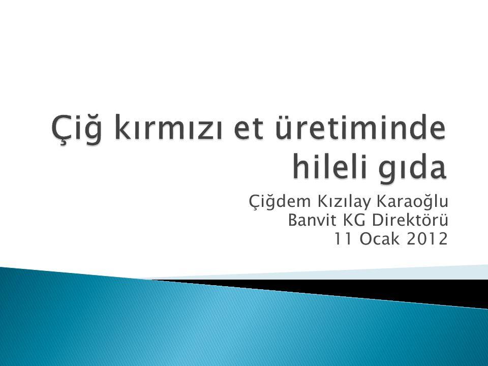 Çiğdem Kızılay Karaoğlu Banvit KG Direktörü 11 Ocak 2012