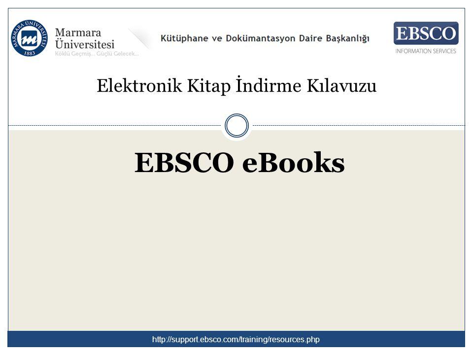 İndir(Çevrimdışı) linkine tıklayarak çevrimdışı okumak üzere e-kitapları indirebilirsiniz.
