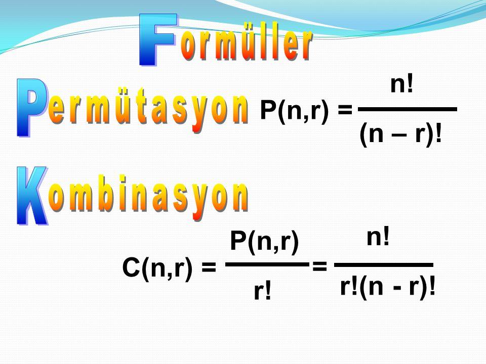 RNEKRNEK A={1,2,3} kümesinin 2'li kombinasyonlarının sayısını bulunuz.