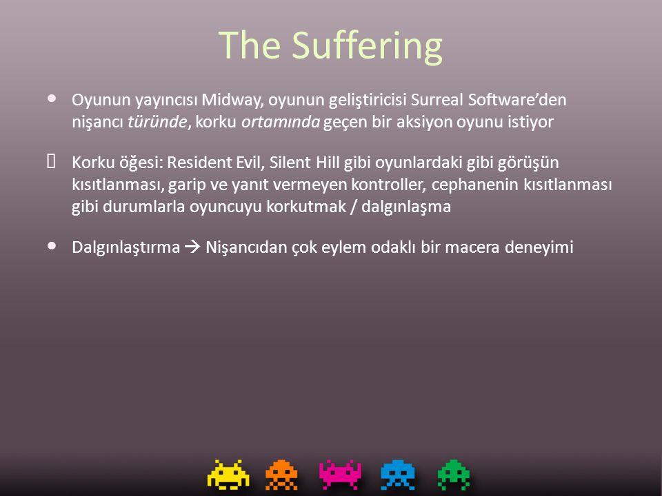 The Suffering Oyunun yayıncısı Midway, oyunun geliştiricisi Surreal Software'den nişancı türünde, korku ortamında geçen bir aksiyon oyunu istiyor ✘ Ko