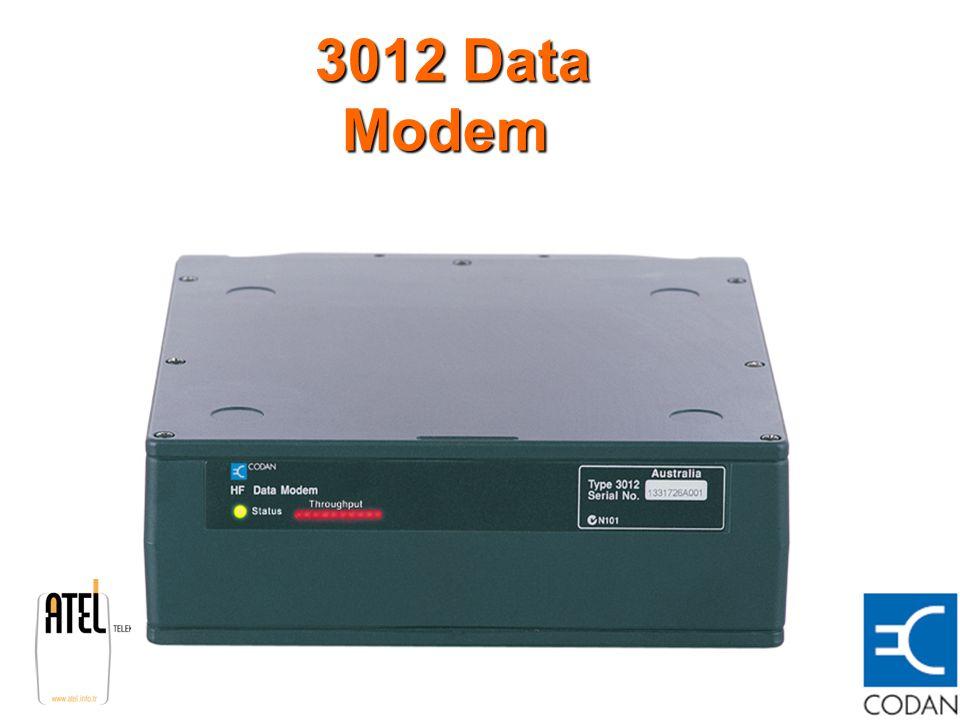 3012 Data Modem 3012 Data Modem