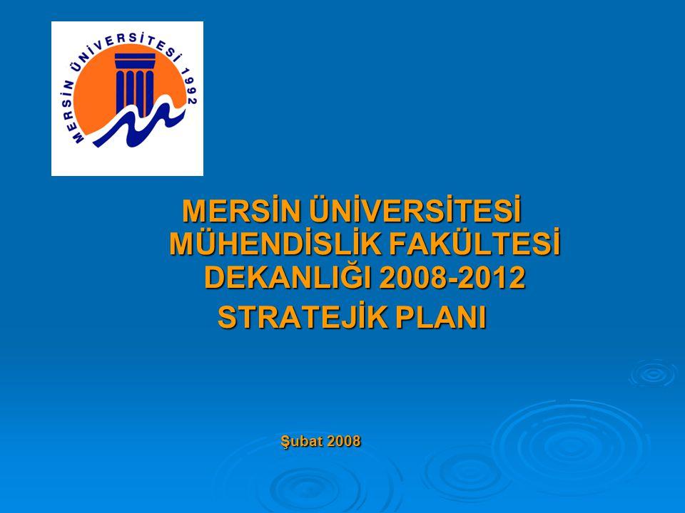  Stratejik Hedef 2.2: İnşaat Mühendisliği Bölümünde 2008-2009 eğitim-öğretim yılında yüksek lisans eğitim-öğretimine başlamak.