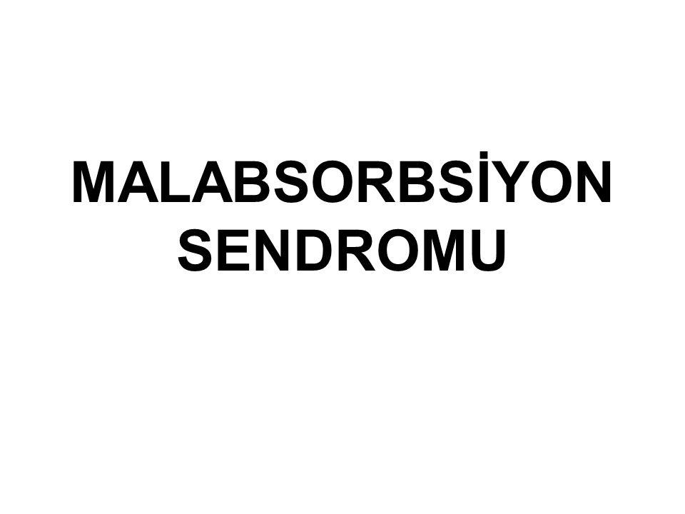 MALABSORBSİYON SENDROMU