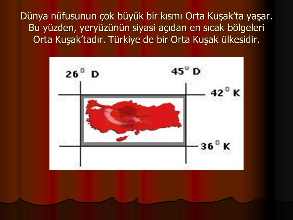 Türkiye bölgesel bir güçtür.Yakın gelecekte ise küresel güç olacaktır.