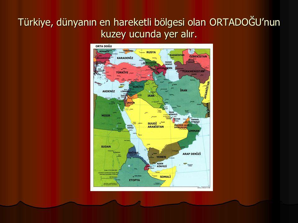 Türkiye enerji koridoru olma özelliği taşır. Mavi AkımBakü-Tiflis-Ceyhan Nabucco