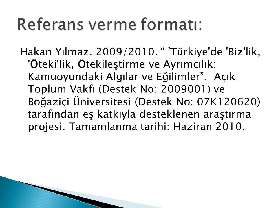 Hakan Yılmaz. 2009/2010.