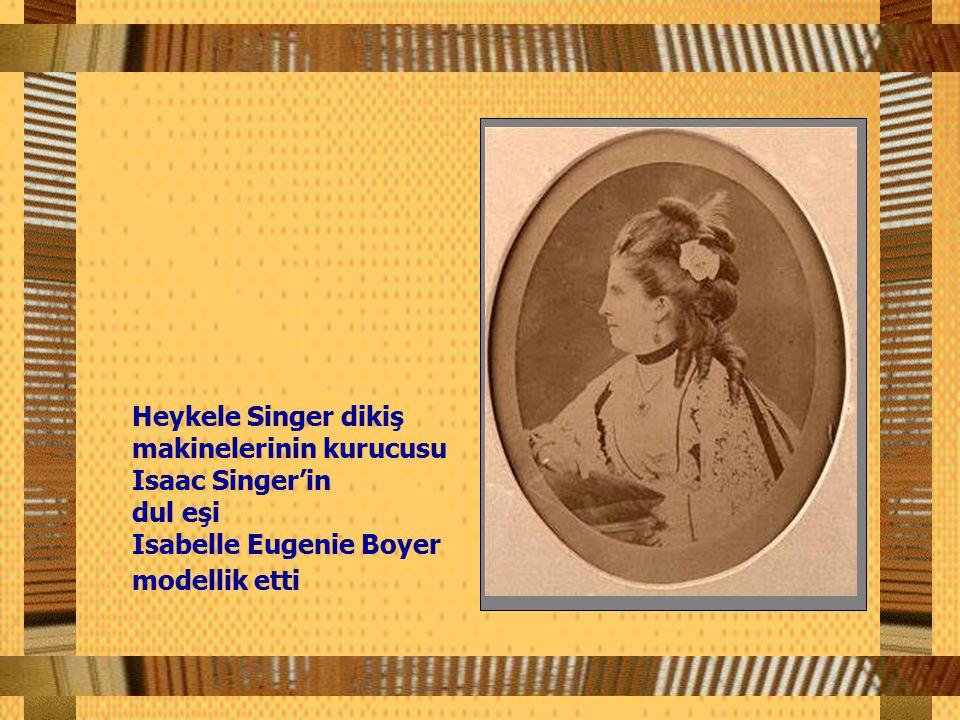 Parası bizzat Sultan Abdülaziz Han tarafından ödenen heykelin siparişi, Fransa'nın ünlü heykeltraşlarından Frederic Augusta Bartholdi'ye verildi