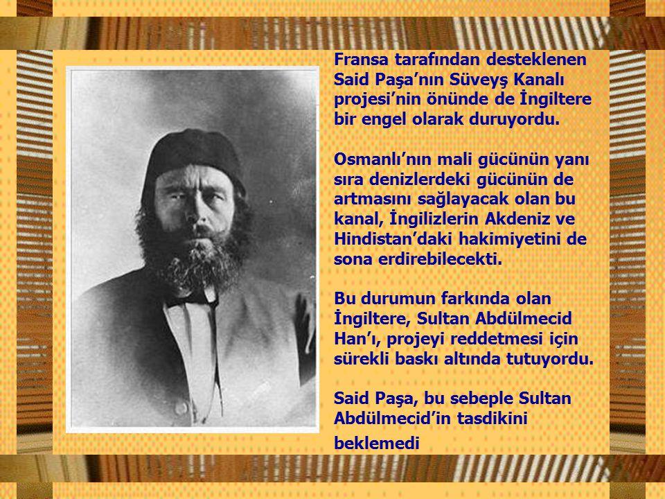 Said Paşa'nın sipariş ettiği, parası Osmanlı hazinesinden çıkan bu heykeli, yeni vali İsmail Paşa Müslüman bir ülkede kadın heykelinin yerel huzursuzluk çıkaracağı endişesiyle istemedi