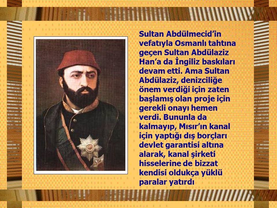 Said Paşa, Abdülmecid'den tasdik gecikince projenin gerçekleşmesi için gerekli şirketin kurulmasını emretti.