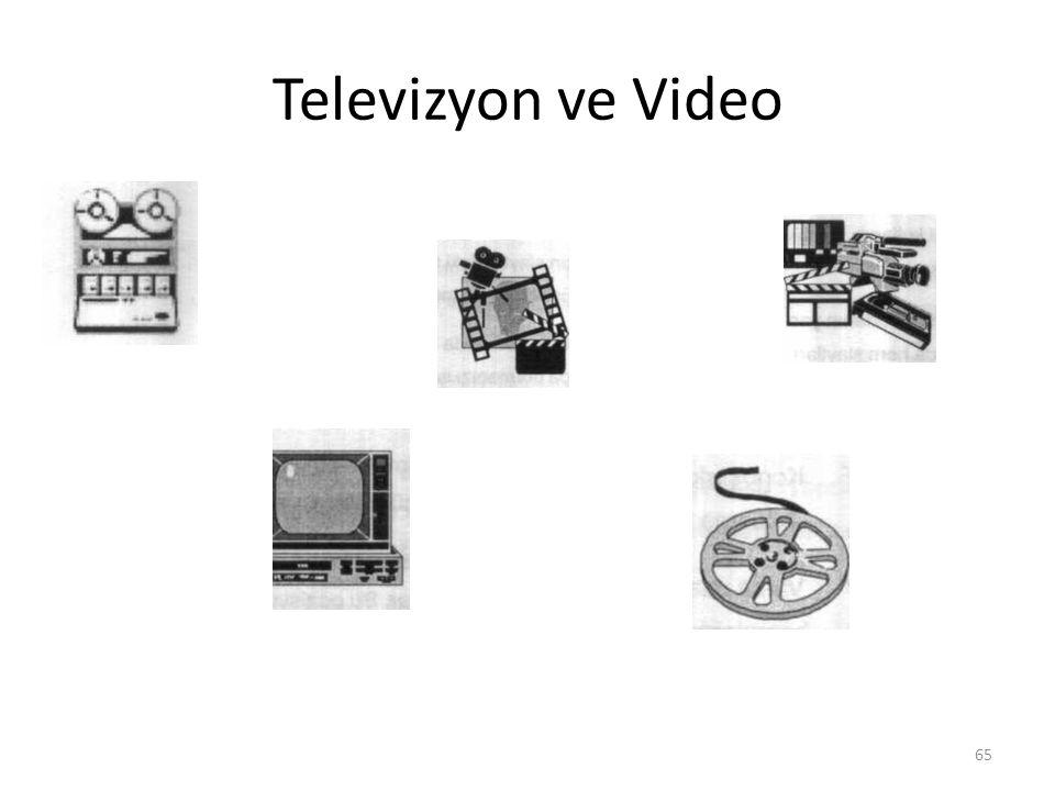 Televizyon ve Video 65