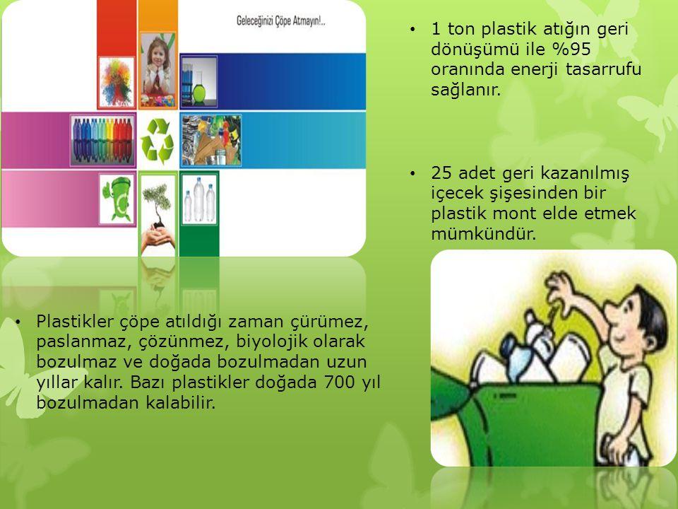 Cam Ambalajlar: Cam ambalajlar en sağlıklı ambalaj çeşidi ve geri dönüşüm oranı en yüksek olanıdır.