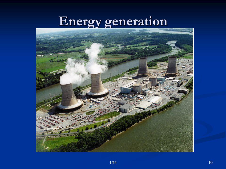 101/44 Energy generation