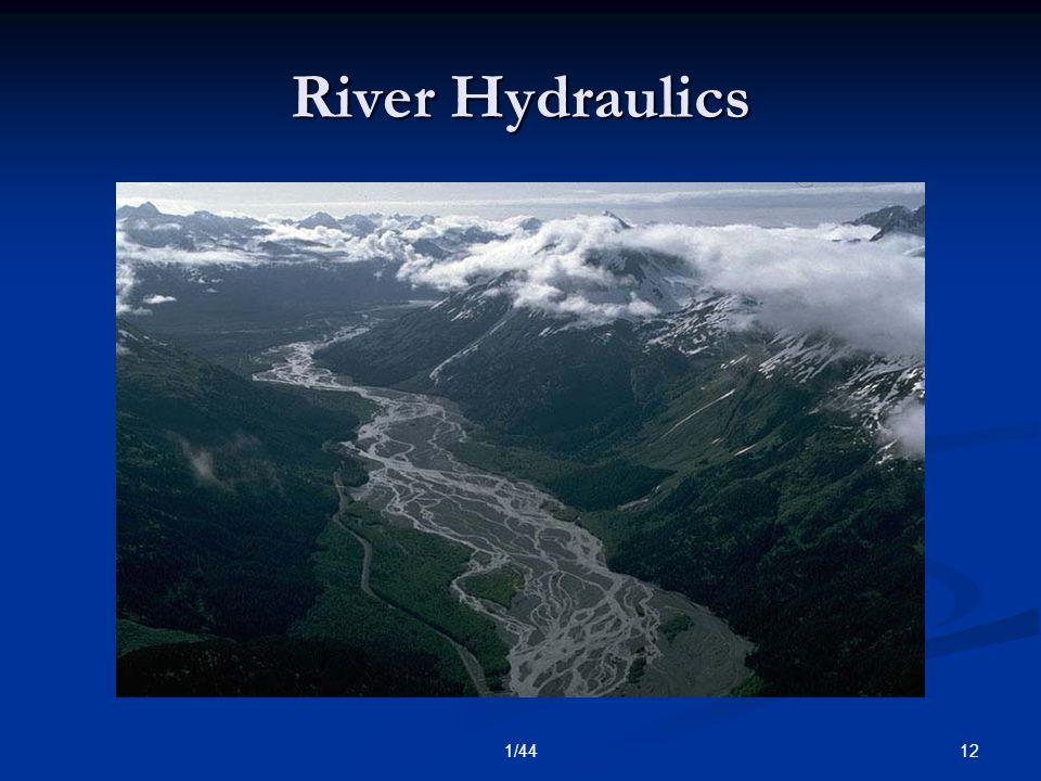 121/44 River Hydraulics